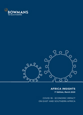 First edition, March 2020: COVID-19 - Economic Impact on East and Southern Africa