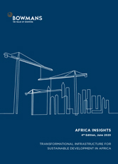 Fourth edition, June 2020: Transformational Infrastructure for Sustainable Development in Africa