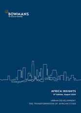 Sixth edition, August 2020: Urban development: the transformation of African cities