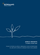 Eighth edition, October 2020: Food systems in Africa - Bringing COVID-19 response in line with Africa's unique food challenges